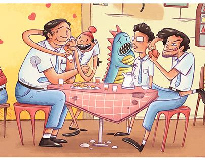 Chai Illustration