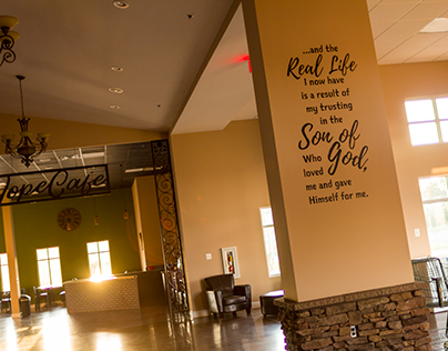 The Real Life I Now Live | Wall Decal