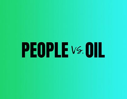 Greenpeace: People vs. Oil Brand Identity