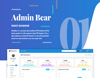 Admin Bear | Admin Dashboard