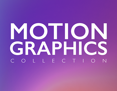 Motion Graphics Collection - 2019