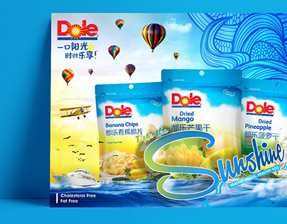 Dole – Dried Fruits Poster