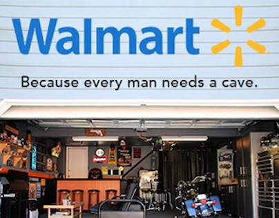 Walmart's Man Cave