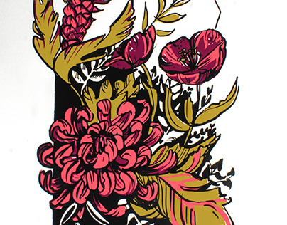Floral Screenprint