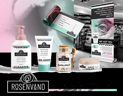 Rosenvand Skincare Line Branding