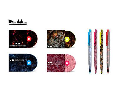 Depeche Mode Albums Design 2016