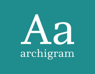 typeface_ archigram