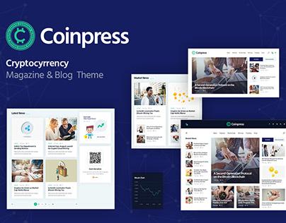 Coinpress   Cryptocurrency Magazine & Blog WP Theme