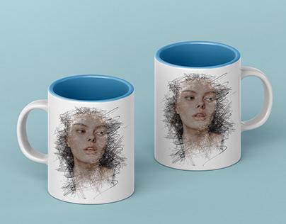 Print on demand on mugs and shirts