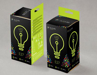 PlayLed - Packaging design & logo design