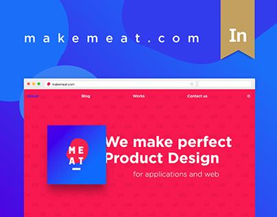 MEAT Agency 1st Website