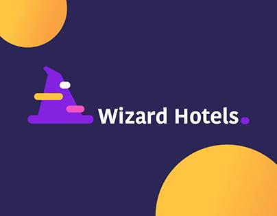 Wizard hotels // Ui&Ux // Brand Identity