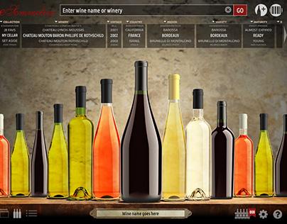 App Design: Wine Cellar Management