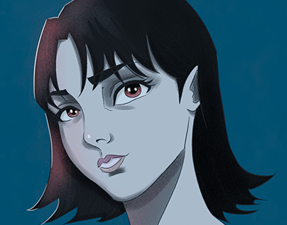 Perfect Blue Study