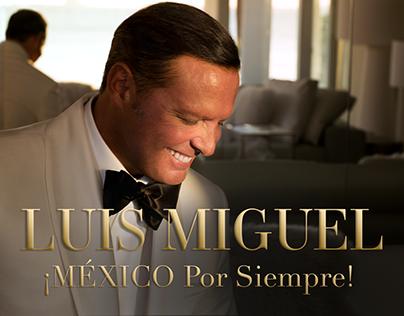 Luis Miguel · ¡México Por Siempre! Video Lyric Oficial
