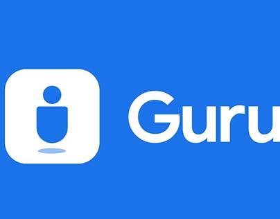 Gurutranslate Logo Design