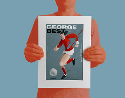 Football Poster: George Best