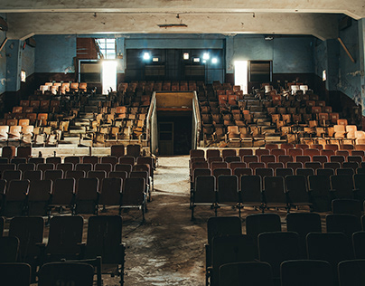 Ruins 11 / abandoned / Abandoned theater