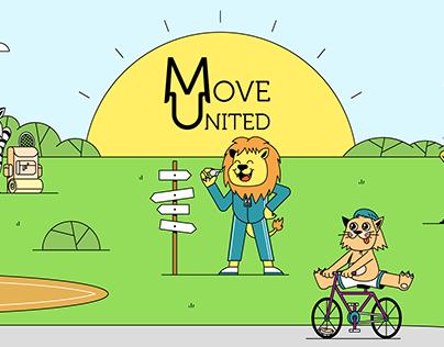 Move United Mascots