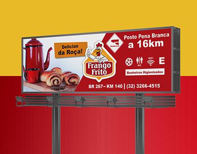 Cardápio e Outdoor | Frango Frito