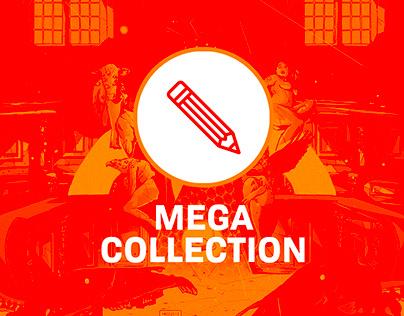 MEGA COLLECTION // Old Works 2016-2017