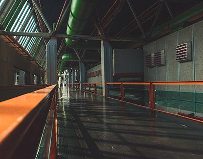 Hallways of Sava Centar