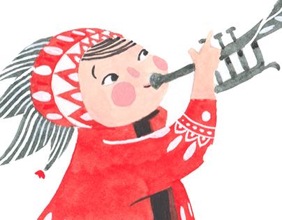 Fairy horn blower
