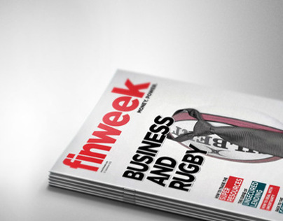 Finweek - Financial Magazine Cover Concepts