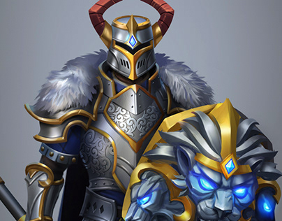 Armor set for mobile game