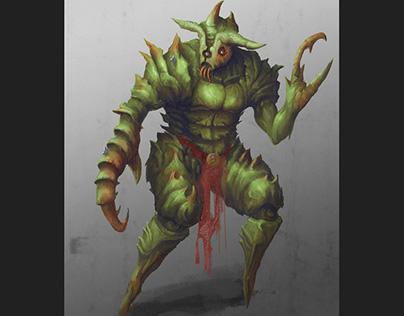 Locust character concept 2