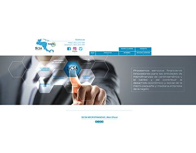 Web Desing for SICSA