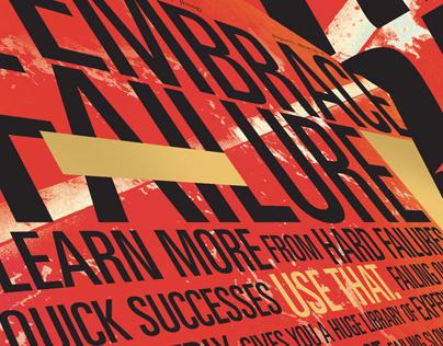 Embrace Failure Poster