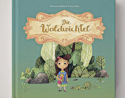 Book Illustration - Die Waldwichtel