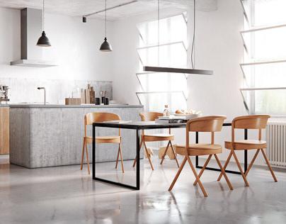 Just a kitchen
