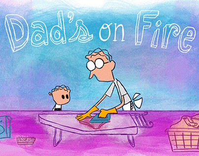 Dad's On Fire | A Father's Day Hallmark eCard
