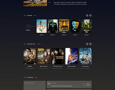 Movie Desktop Website