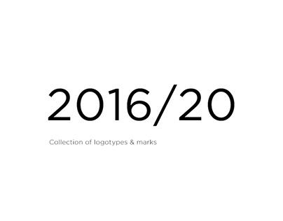 Logotypes & marks 2016/20