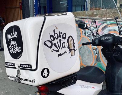 Dobra Vila - pizzeria / identity design