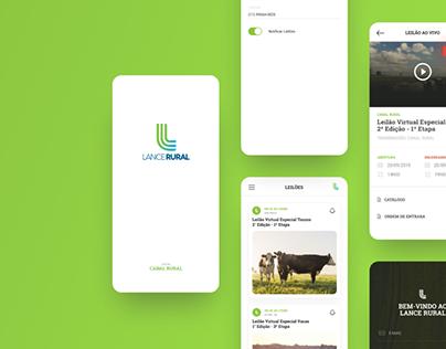 Lance Rural - App design