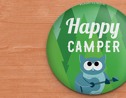 Camp Vendini 2016 Collectible Buttons | Vendini