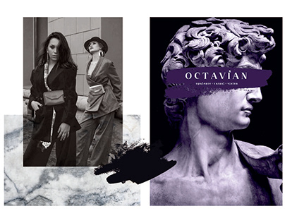 OCTAVIAN - Branding design