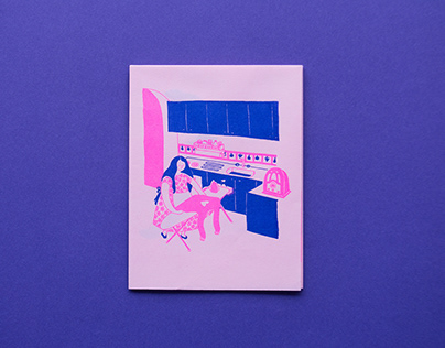 De mí enamórate / Fanzine risography