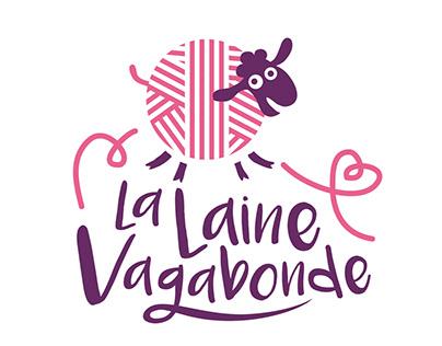 Logo- La Laine Vagabonde