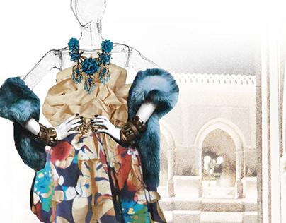 Fashion Illustration / Collage