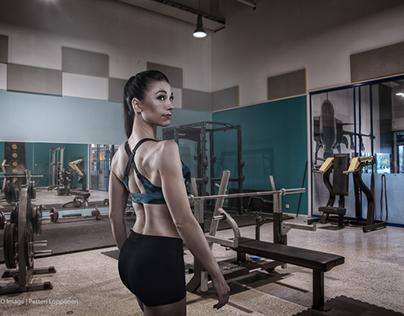 Fitness Athlete Composite portraits