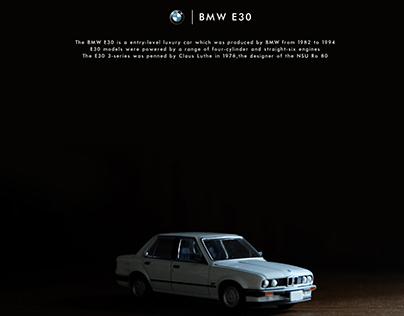 BMW E30 TOMICA DIE CAST EDITORIAL