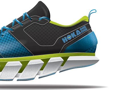 Hoka Barefoot Running Shoe