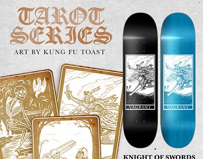Vagrant Skateboards // Tarot Series
