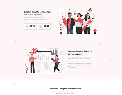 Landing page-inspired from themeforest