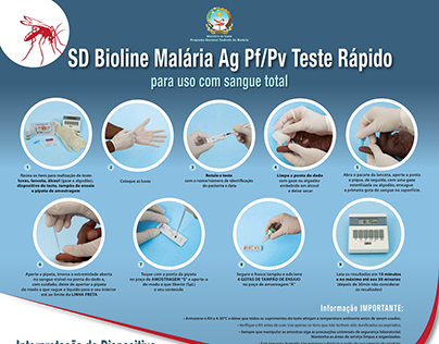 Poster SD Bioline Malaria Whole-blood quik test
